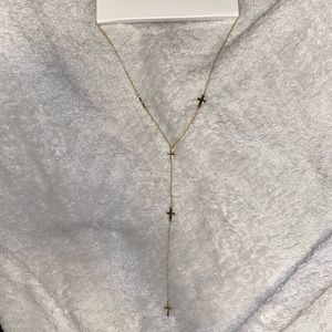 Super Adorable Cross Long Necklace
